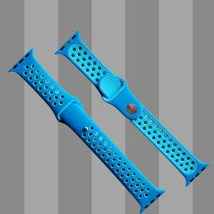 Sport Band Compatible for Apple watch Blue/teal